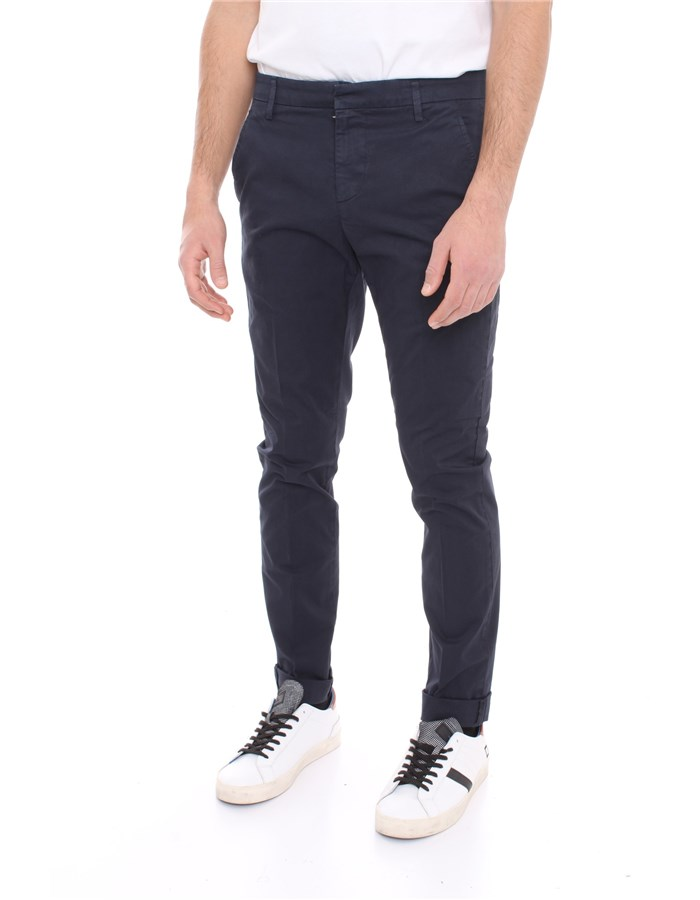DONDUP Trousers Dark blue