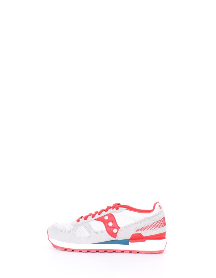 SAUCONY Trainers Red gray