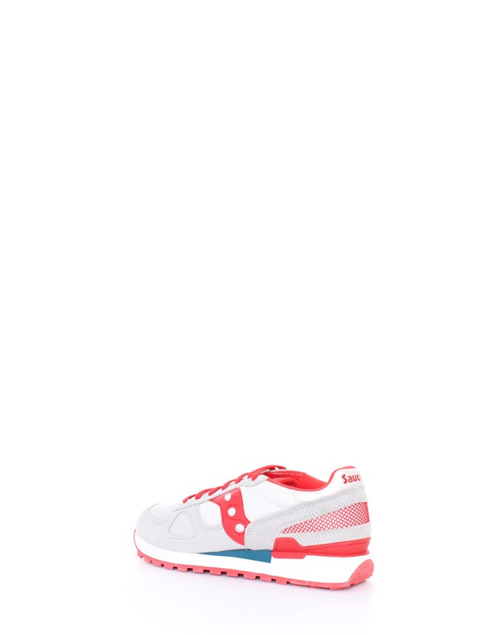 SAUCONY Sneakers Red gray