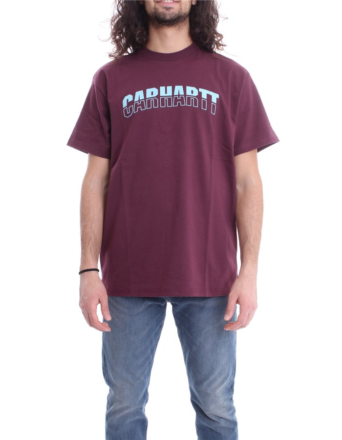 CARHARTT T-SHIRT Bordeau