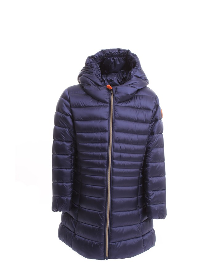 SAVE THE DUCK Jackets Long J4491G IRISY Navy blue
