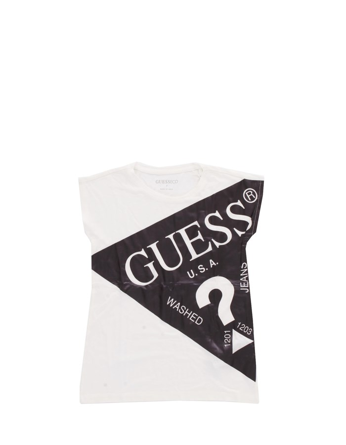 GUESS T-shirt Short sleeve J0YI13KA6S0 Black