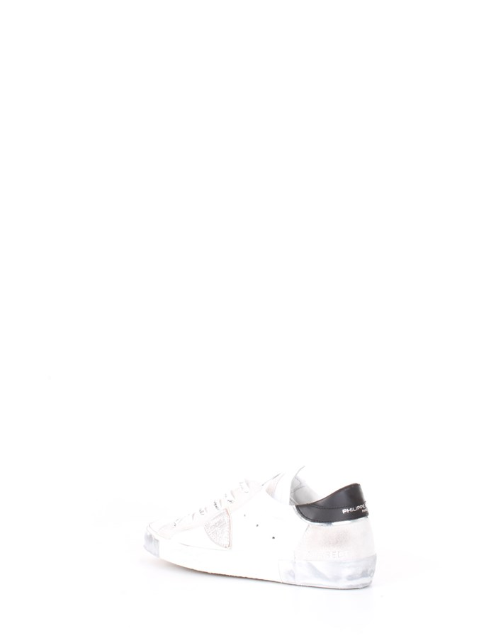 PHILIPPE MODEL Sneakers Silver white