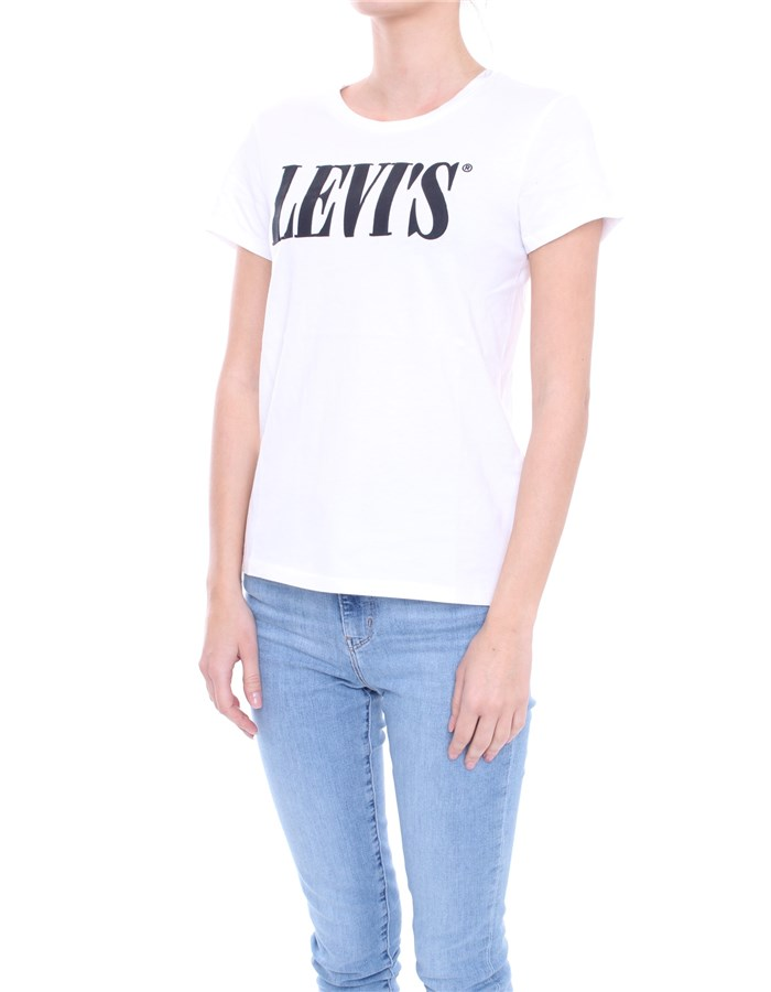 LEVI'S T-shirt White black