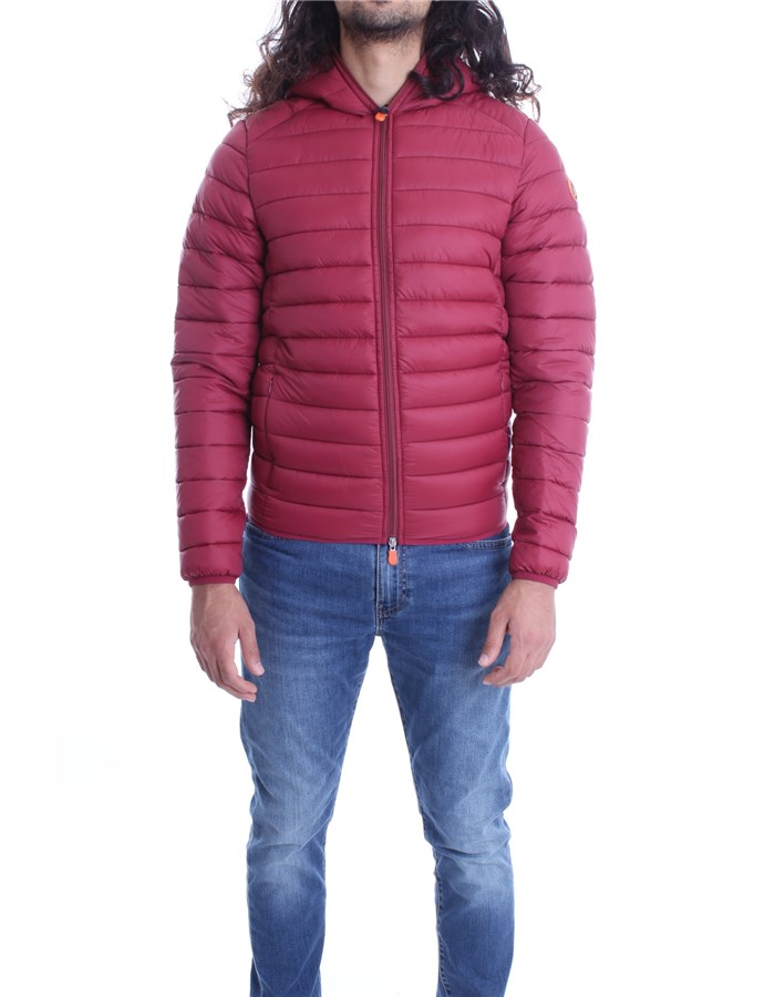 SAVE THE DUCK Jackets Short D3065M GIGA Ruby red