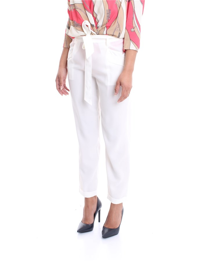 LIU JO Trousers White