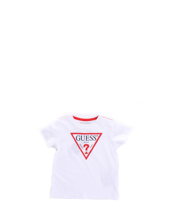 GUESS T-shirt Short sleeve I91I11K5M20 White