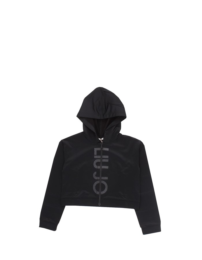 LIU JO Hoodies Black