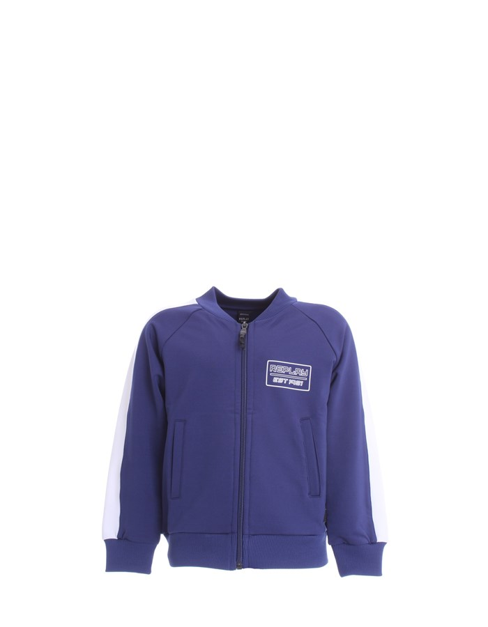 REPLAY Sweat Blue