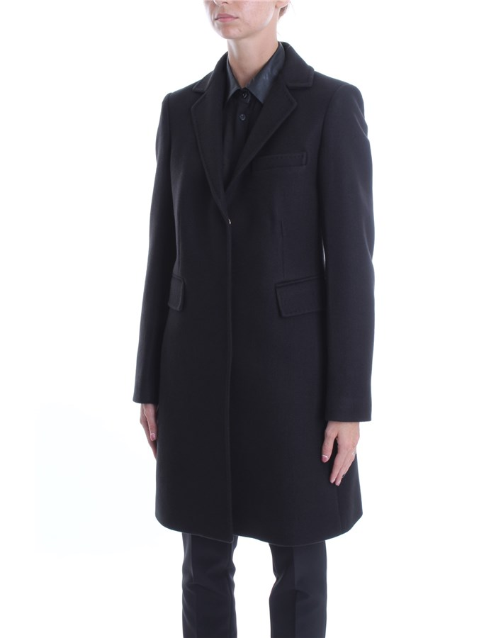 LIU JO Overcoat Black
