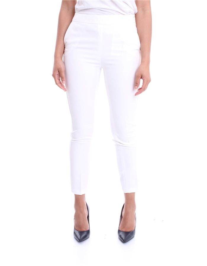 LIU JO Pants White white