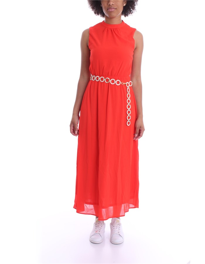MOLLY BRACKEN Dress Coral