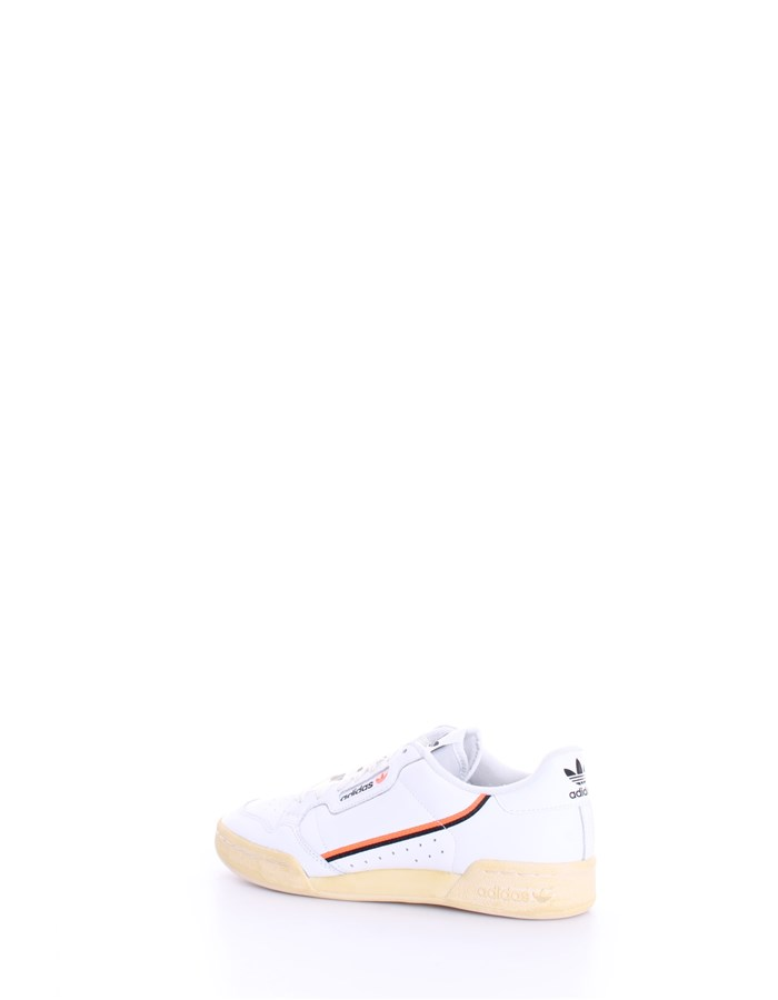 ADIDAS Sneakers Orange white