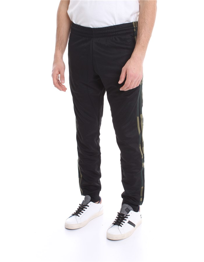 ADIDAS Trousers Black camou