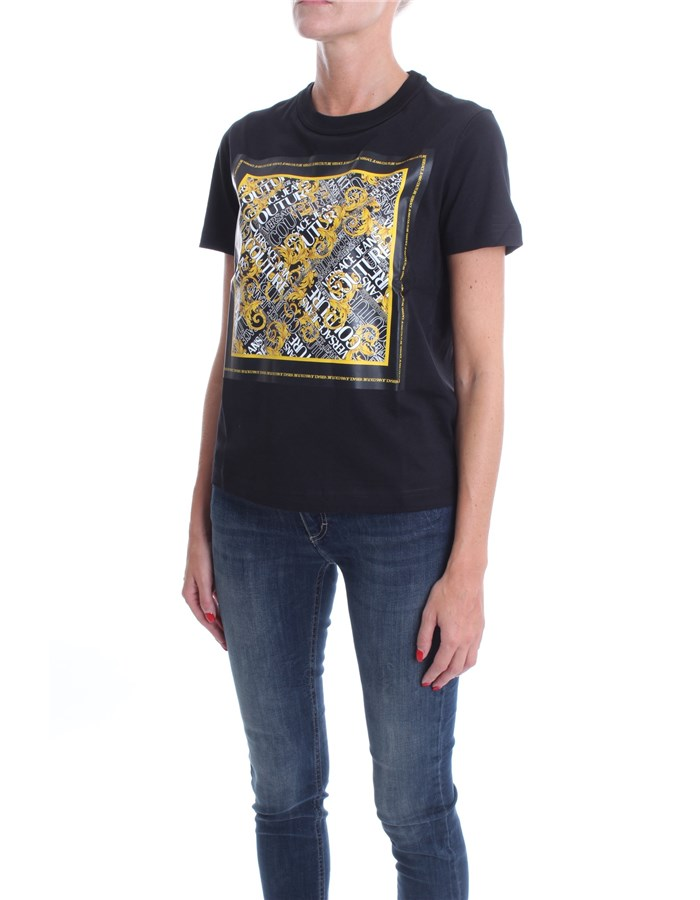 VERSACE Short sleeve Black