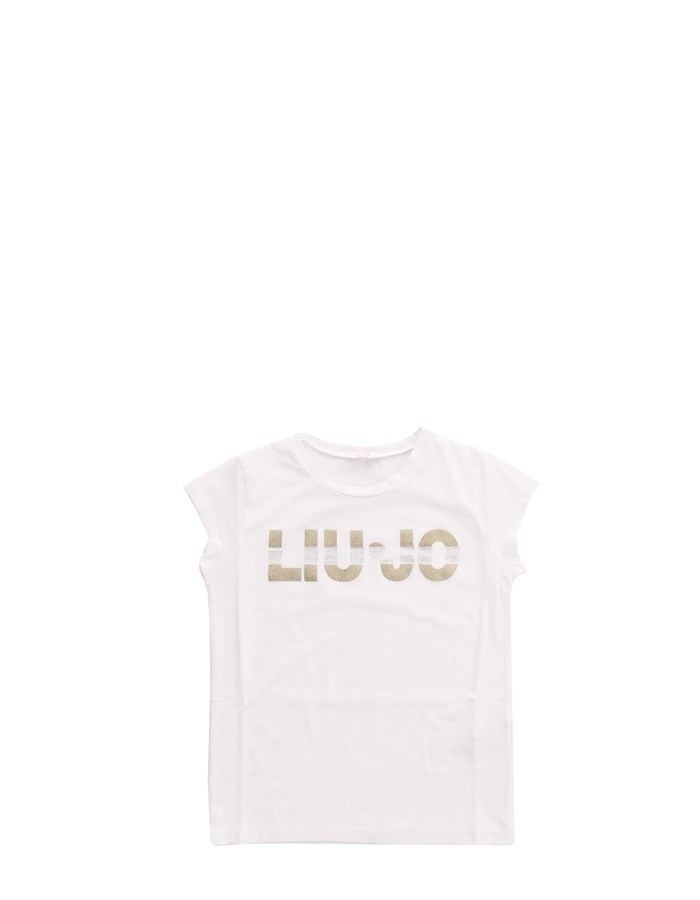 LIU JO T-shirt White gold