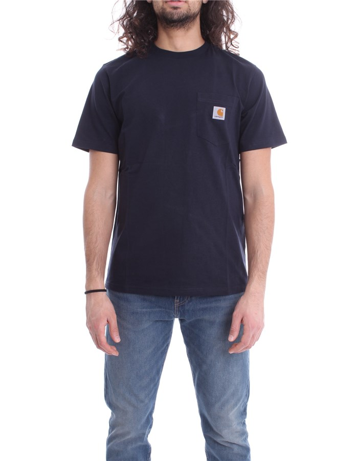 CARHARTT T-SHIRT Blue