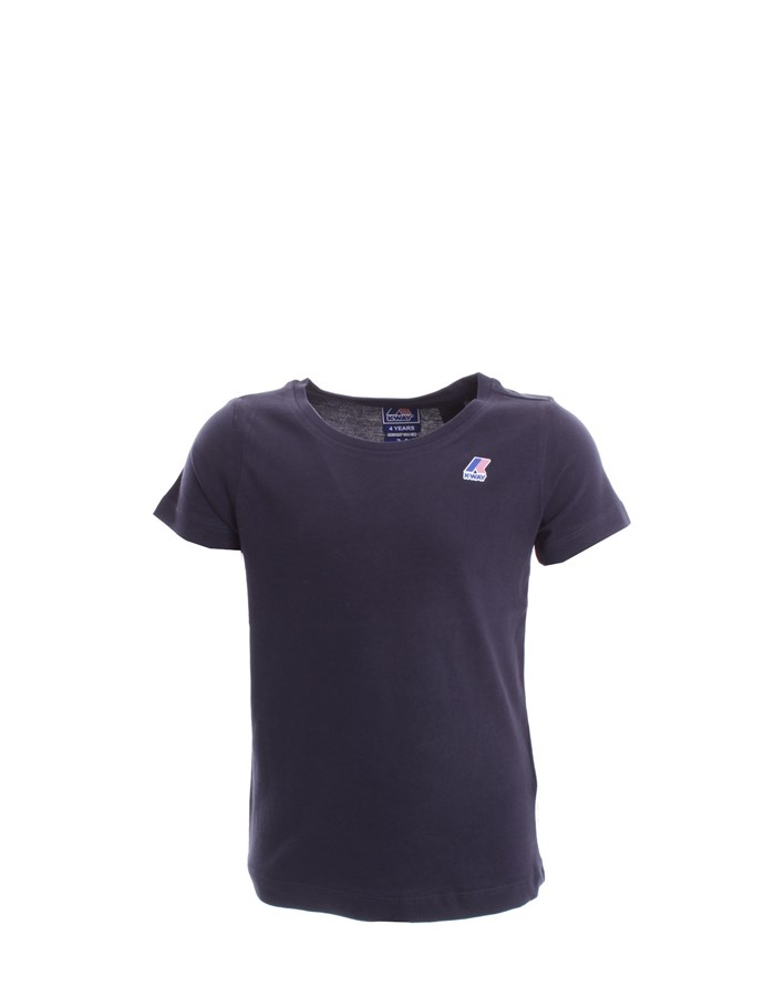 KWAY T-shirt Blue depth