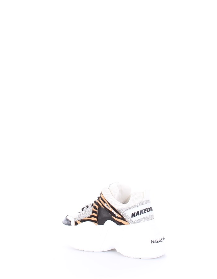 NAKED WOLFE Sneakers White
