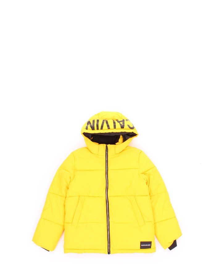 CALVIN KLEIN Coat Yellow