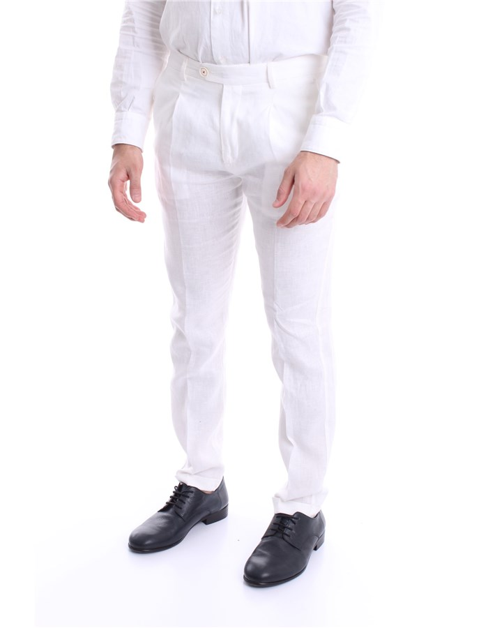 MANUEL RITZ Pants White