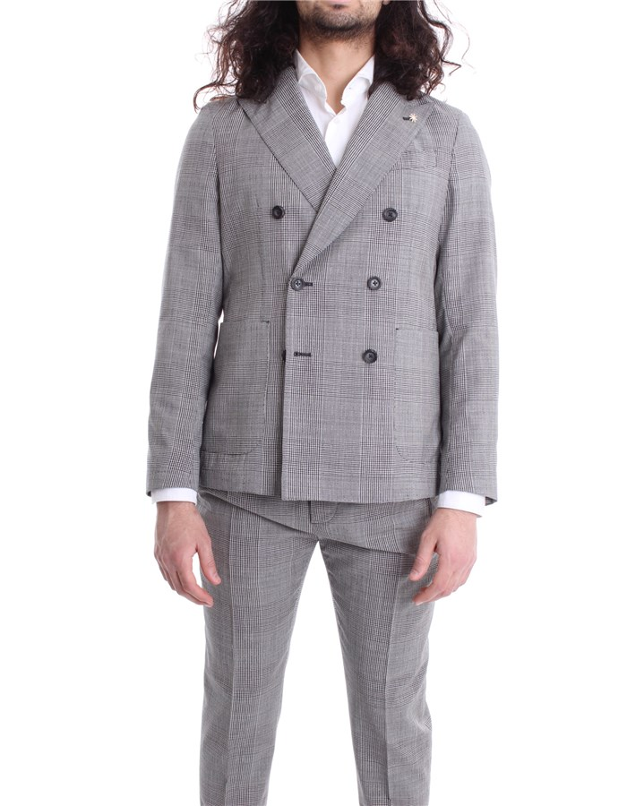 MANUEL RITZ Jacket Grey