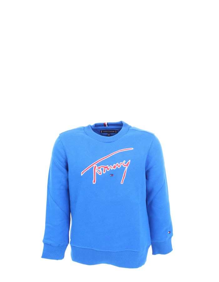 TOMMY HILFIGER Sweatshirt Royal