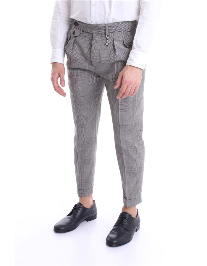 MANUEL RITZ Pants Grey