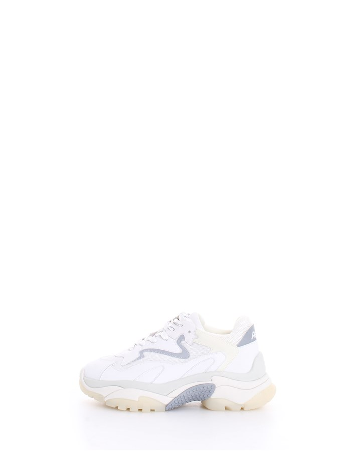ASH Trainers White silver