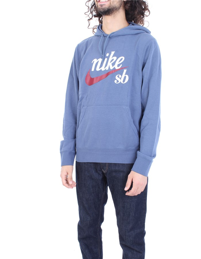 NIKE Sweatshirt Blue