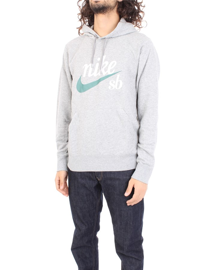 NIKE Sweatshirt Gray
