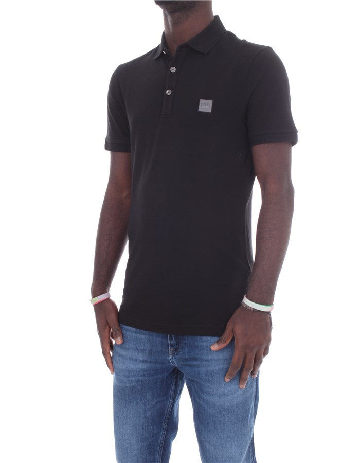 BOSS Short sleeves Black