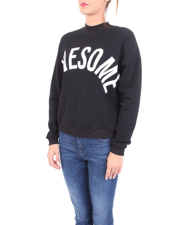 J'AIME' Sweatshirt Black