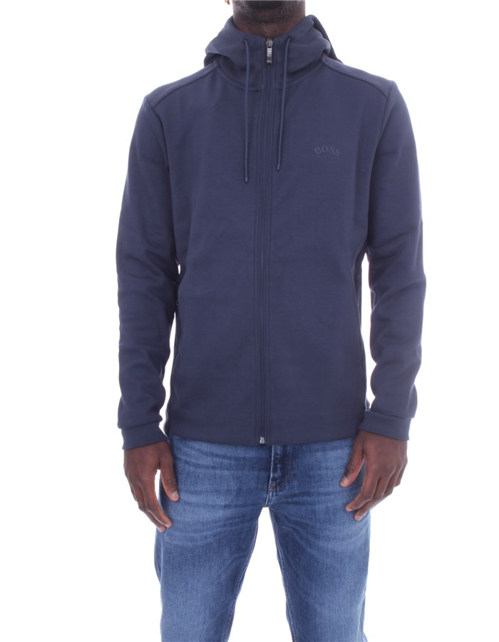 BOSS  With Zip Navy blue