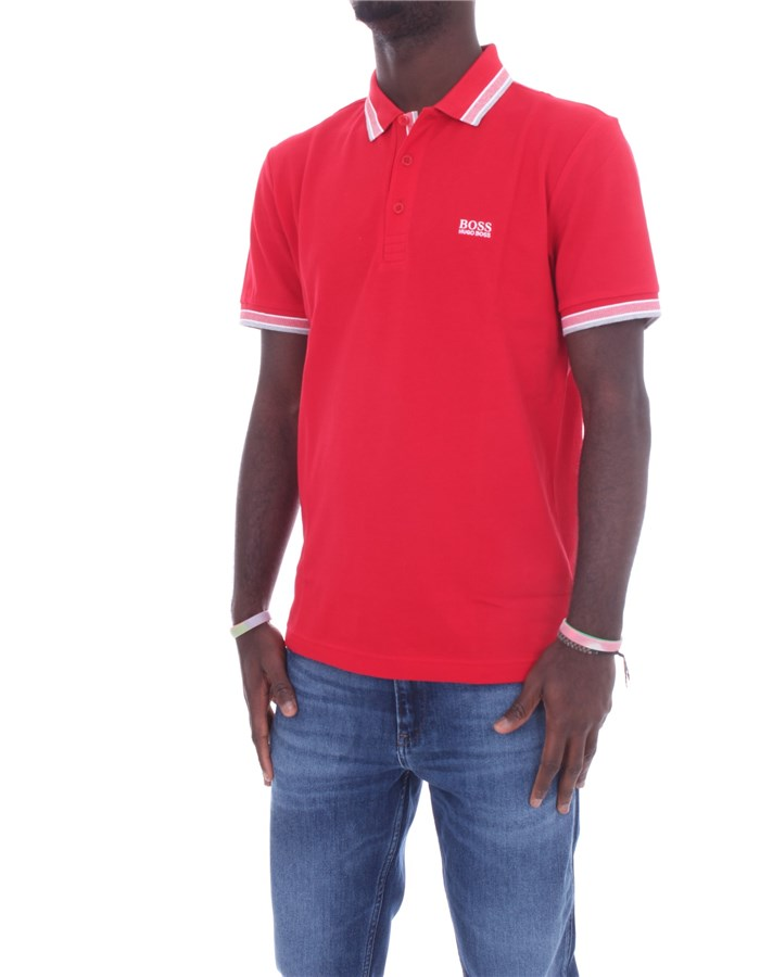 BOSS Short sleeves Red
