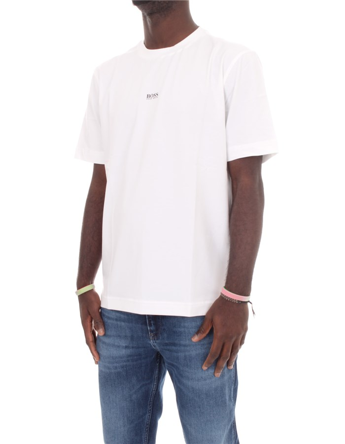 BOSS Short sleeve White