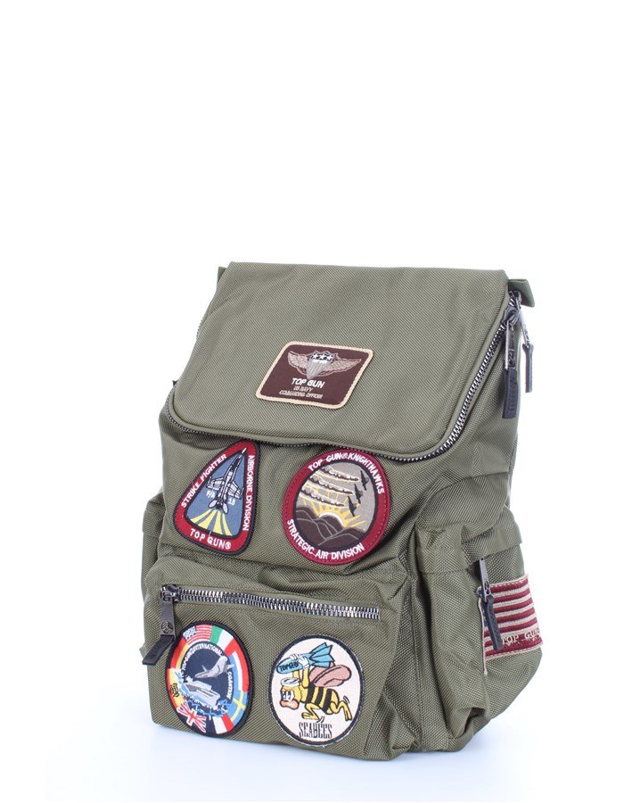 TOP GUN Bag Military green