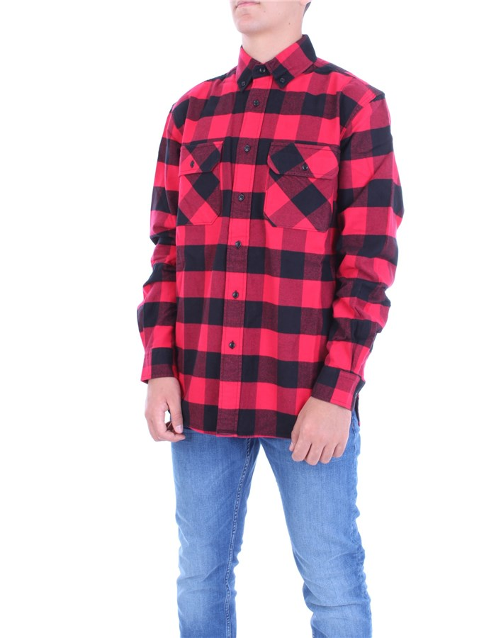 WOOLRICH Shirt Red buffalo