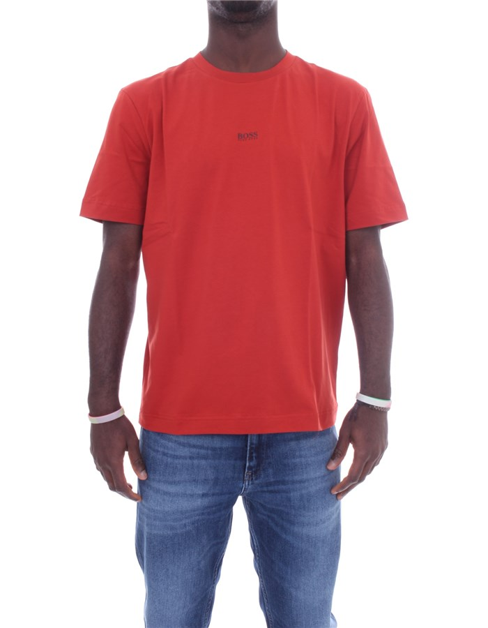 BOSS Short sleeve Red