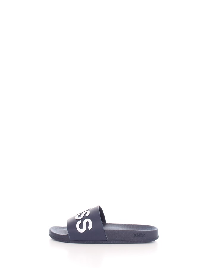 BOSS slippers Dark blue