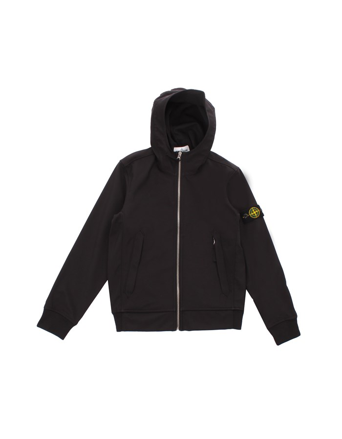 STONE ISLAND JUNIOR Short Black