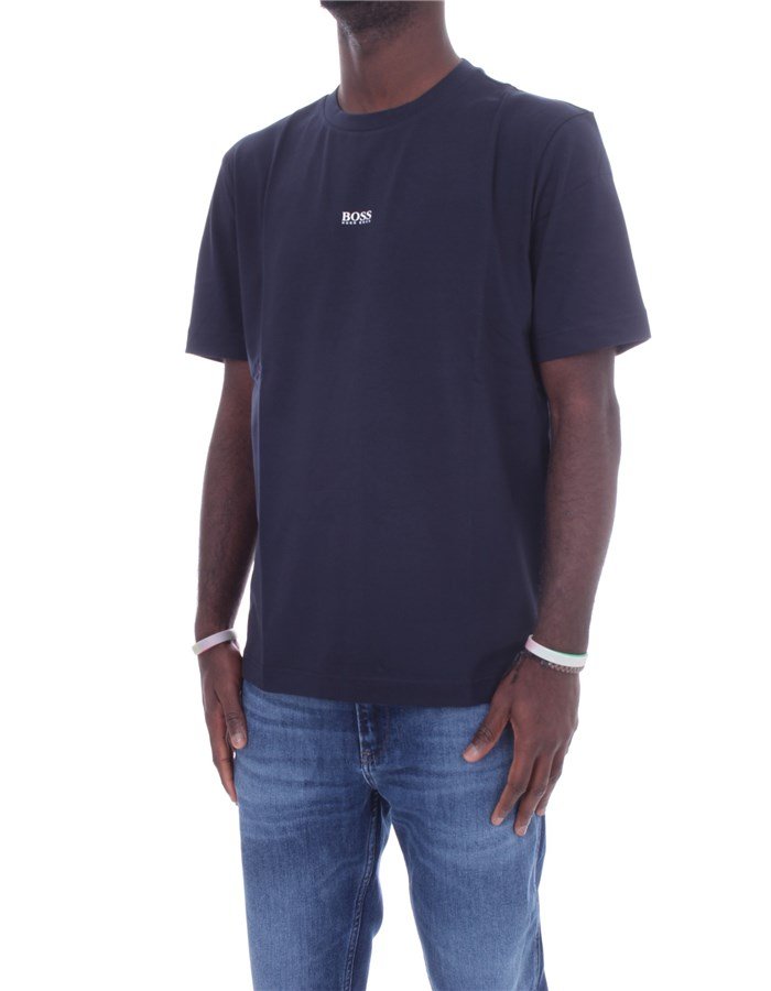 BOSS Short sleeve Dark blue