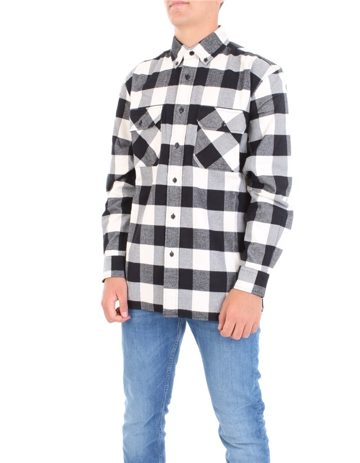 WOOLRICH Shirt White buffalo