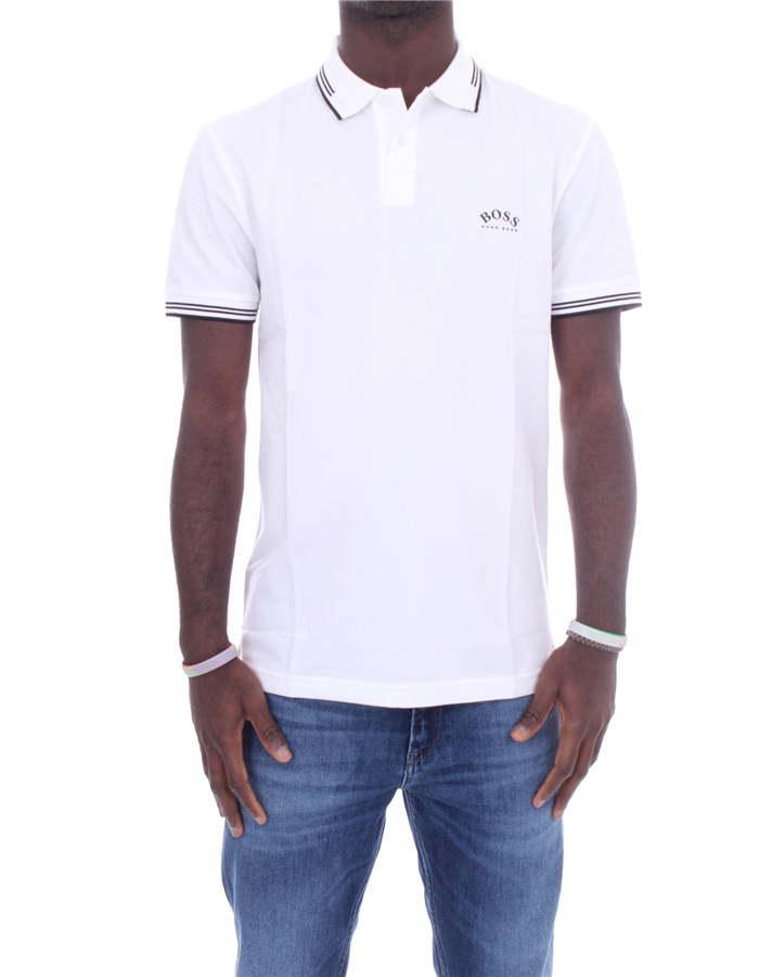 BOSS Short sleeves White