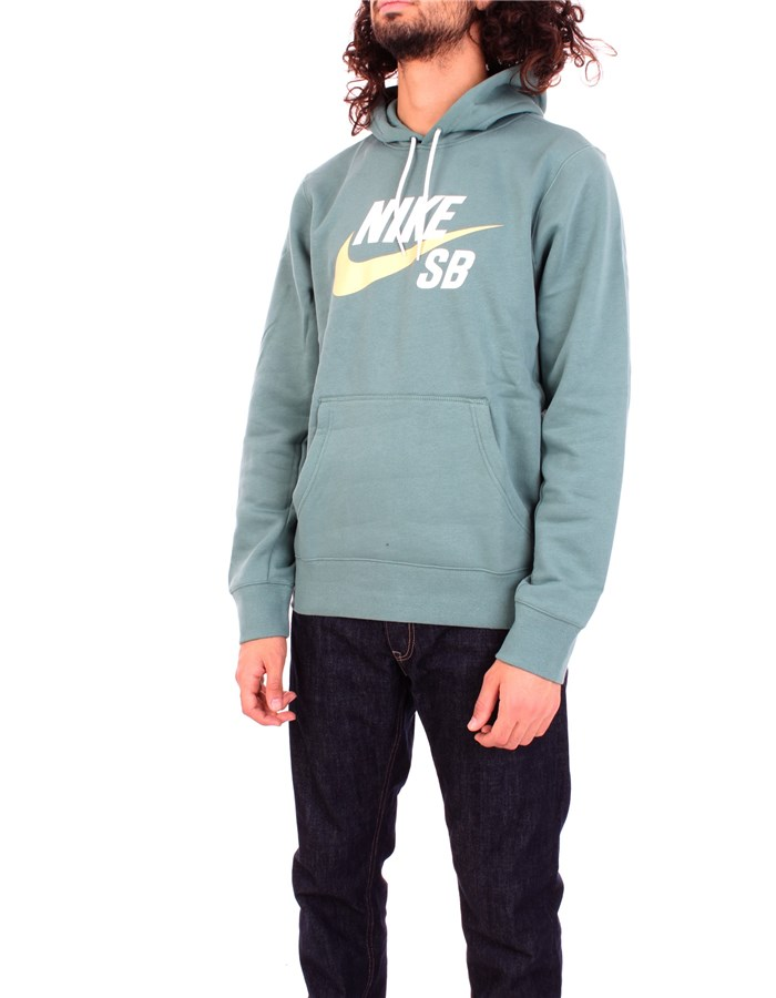 NIKE Sweatshirt Green