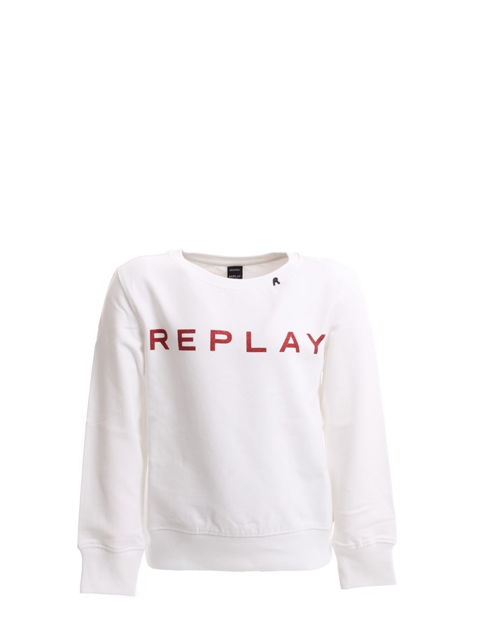 REPLAY Sweat White