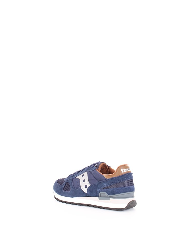SAUCONY Sneakers Navy brown