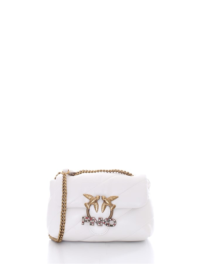 PINKO Shoulder Bags White