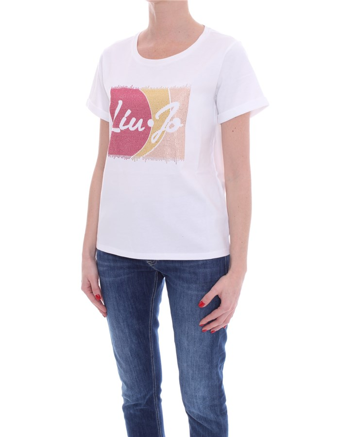 LIU JO Short sleeve White