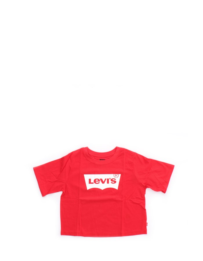 LEVI'S Short sleeve Red